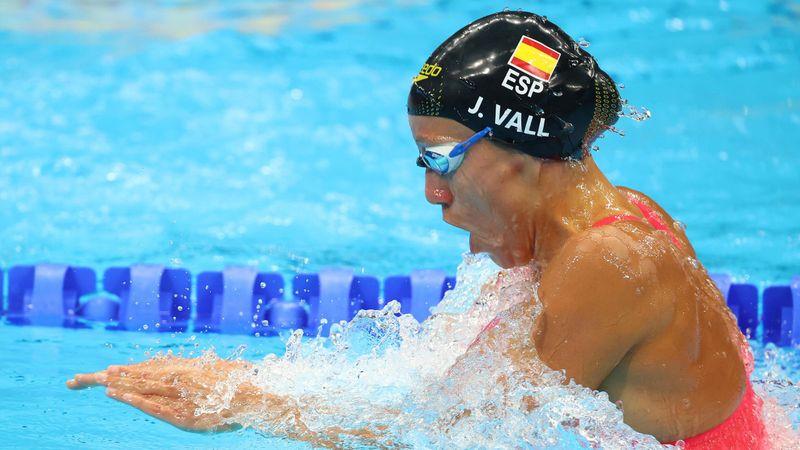 Natación | Jessica Vall se queda sin final en los 200 braza