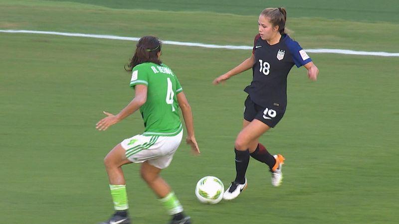 Mondiali Under 20 femminili: USA - Messico 2-1, gli highlights