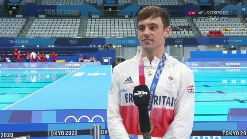 'My husband said maybe my son was meant to watch me become Olympic champion' - Daley