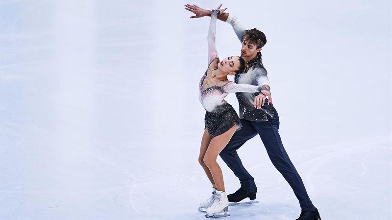 Laura Barquero y Marco Zandron invitan a ver los Juegos de Invierno de Pekín 2022 en Eurosport