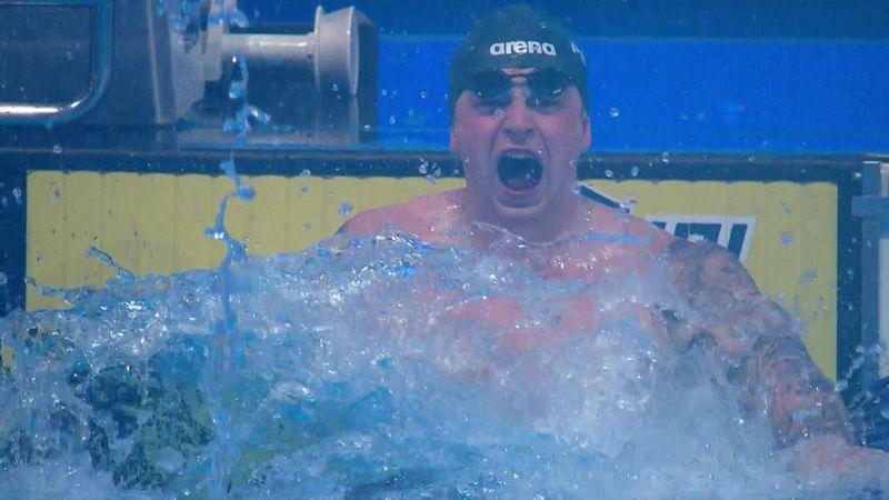 'He did it again!' – Peaty breaks own 100m breaststroke world record