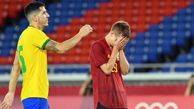 Fútbol (H)   Brasil-España: El oro se escapa en la prórroga (2-1)