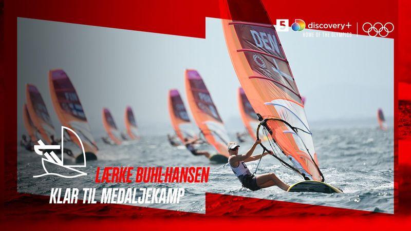 Lærke Buhl windsurfer sig sikkert i medaljerace