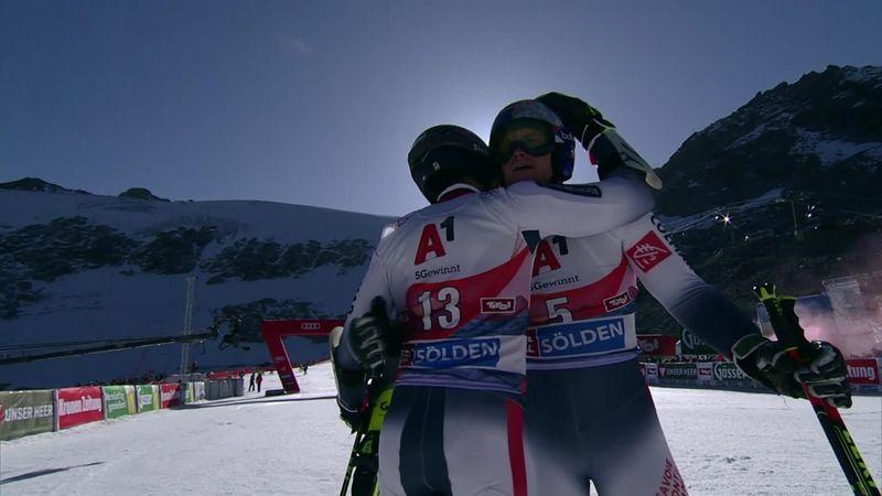 Copa del Mundo de esquí (masculina): Pinturault hace de Sölden su casa y se lleva el triunfo