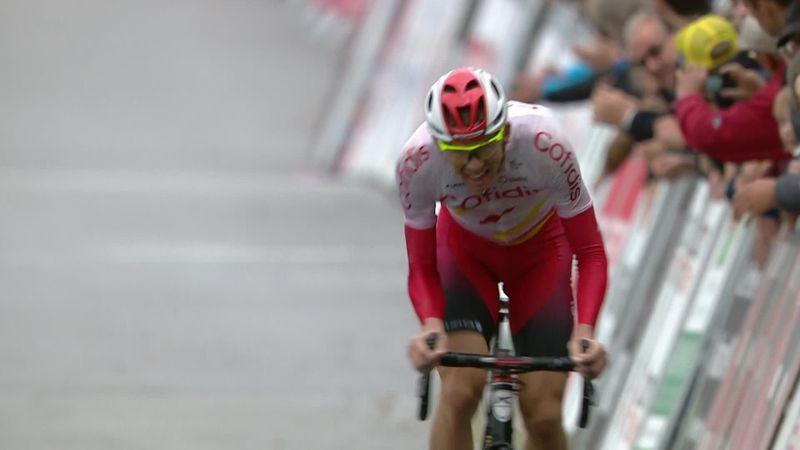 Famenne-Ardenne Classic: Dimitri Claeys se impone con fuerza ante Van der Poel