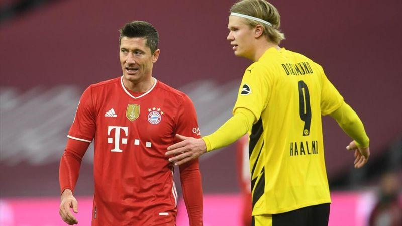 El fútbol del sábado: Festival de Lewandowski, Haaland, Mbappé y Morata