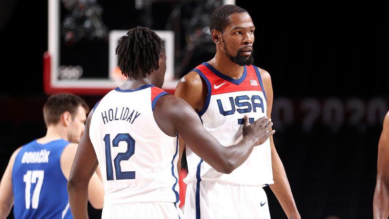 Baloncesto   Estados Unidos-R. Checa: Durant y Tatum guían al Dream Team (119-84)