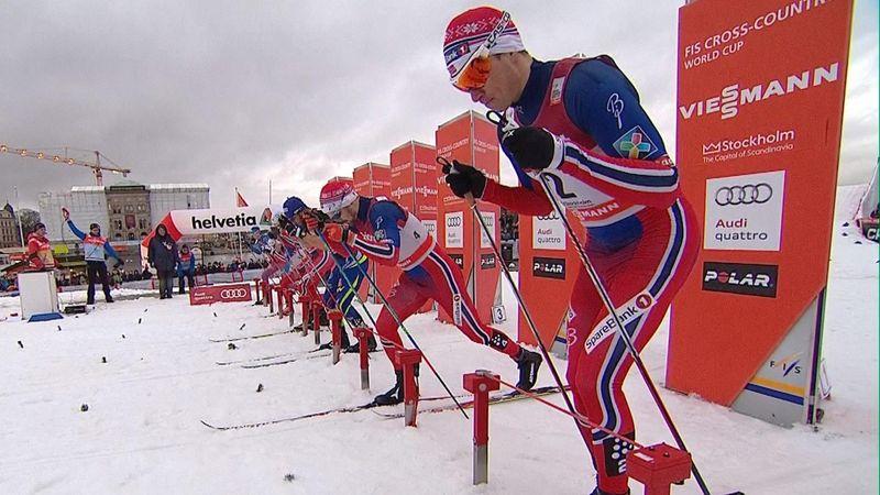 Skilanglauf: Sprint der Herren in Stockholm