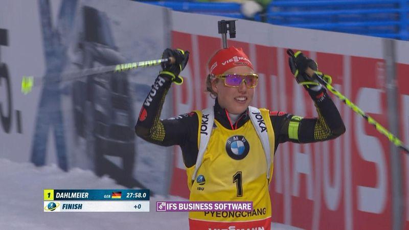 Biatlon Dünya Kupası - PyeongChang: Kadınlar 10 km takip
