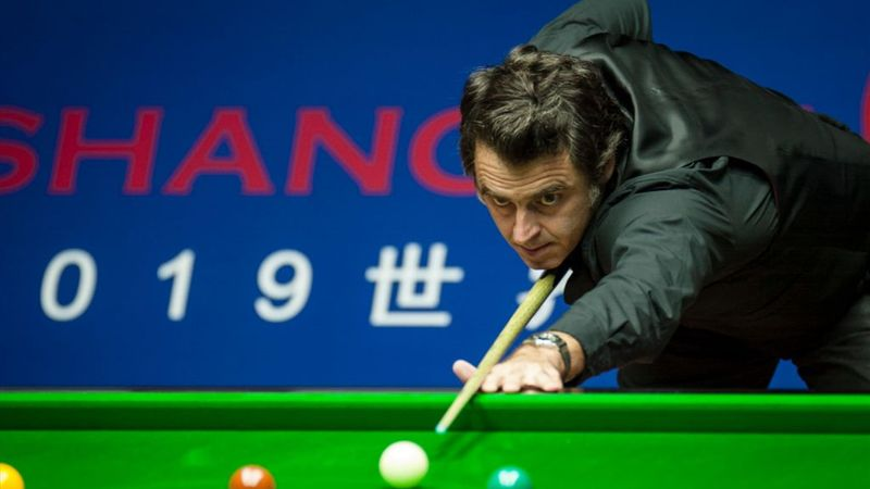 Shanghai Masters: Ronnie O'sullivan's fluck agains Robertson