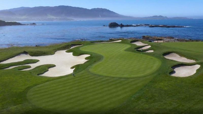 Malerische Steilküste am Pazifik: Der schönste Golfplatz der Welt