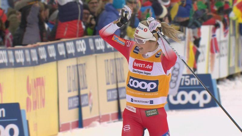 Dominant Johaug wins again