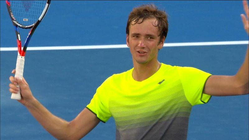 ATP Sydney: Medvedev-Fognini, gli highlights