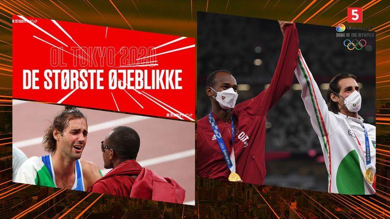 Største øjeblikke: Højdespringere deler euforisk guldet i dramatisk finale