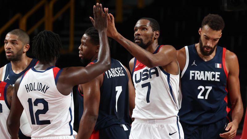 Baloncesto (H)   Francia-EE. UU (final): Prohibido dudar del 'Dream Team' (82-87)