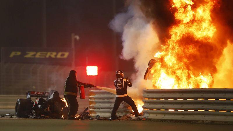 Grosjean, il terribile incidente spiegato in 80 secondi