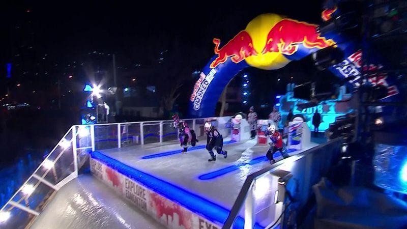 Trunzo krönt sich in Edmonton zur Crashed-Ice-Königin