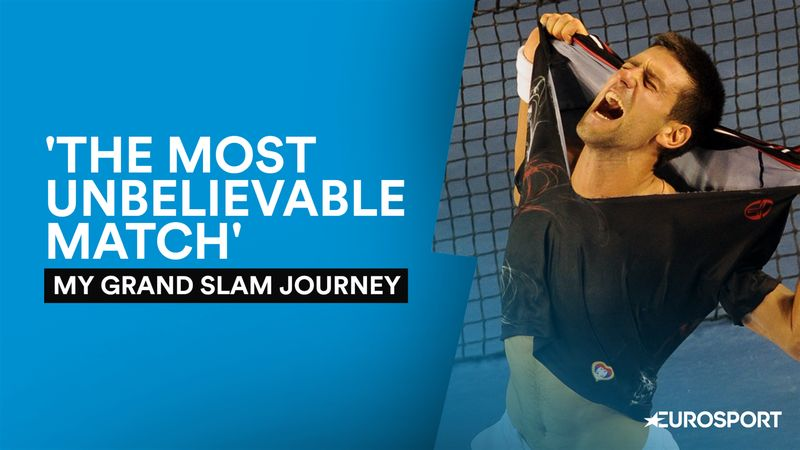 'The most unbelievable match' - Djokovic on his greatest Australian Open moments