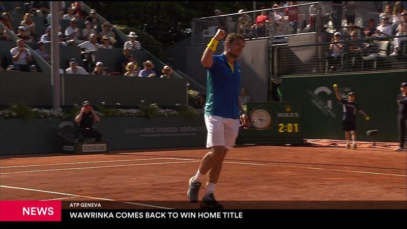 Wawrinka supera Mischa Zverev in finale: il torneo svizzero è suo