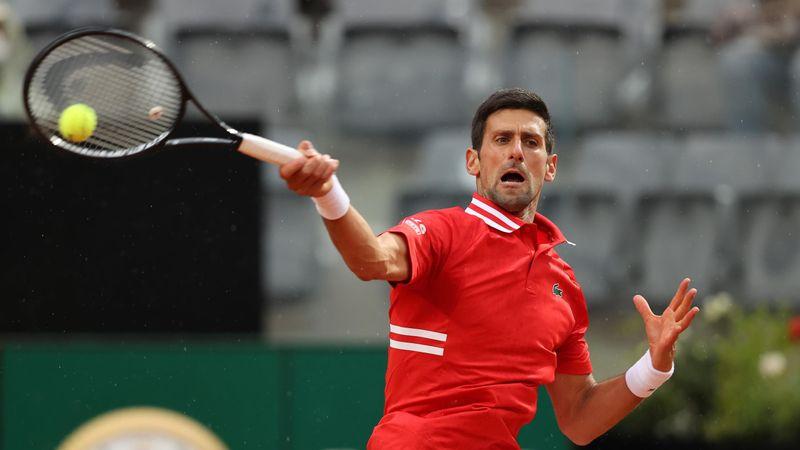 ATP Róma: Djokovic - Tsitsipas összefoglaló