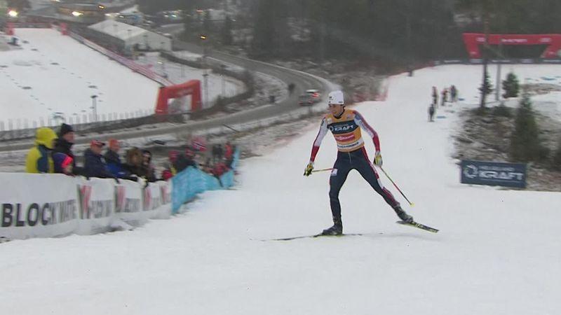 Jarl Magnus Riiber cala il tris e vince il Tour di Lillehammer. Pittin chiude al 25° posto