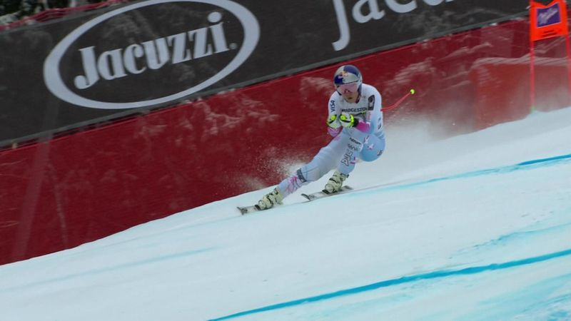 Copa del Mundo Garmisch-Partenkirchen: Lindsey Vonn toma la delantera