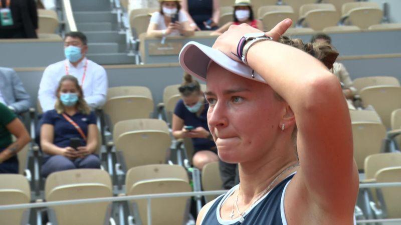 'I'm super happy!' - Krejcikova reacts to unlikely French Open triumph