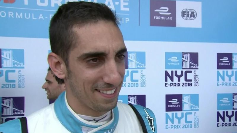 Buemi 'really happy' after pole in New York City