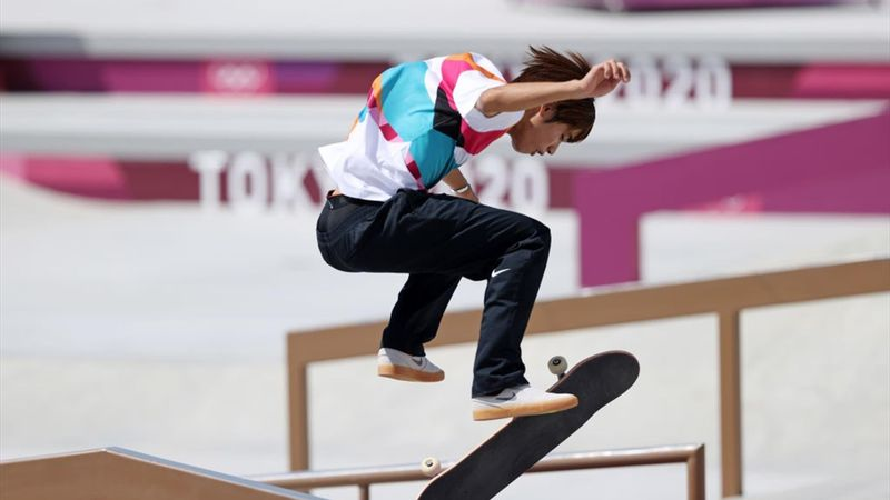 9.5! Skateboard-Star Horigome haut den Trick des Tages raus