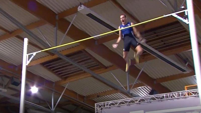 C'était du Lavillenie vintage : Revivez son saut magistral à 6,06m