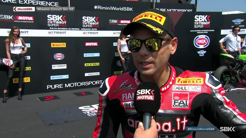 Bautista: It was important to win Superpole race