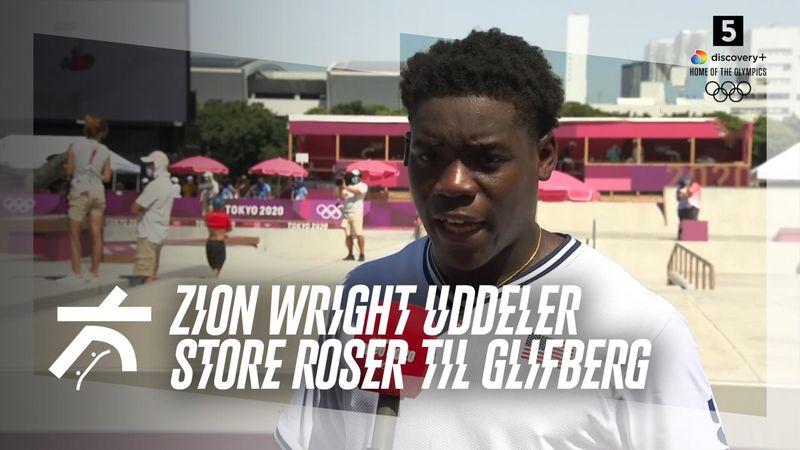 Amerikanske Zion Wright med stor cadeau til Glifberg: Jeg er beæret over at skate med Rune