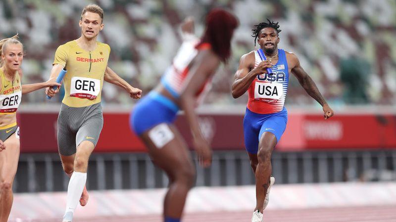 Tokyo 2020 | Opmerkelijke wissel VS in 4x400 meter estafette
