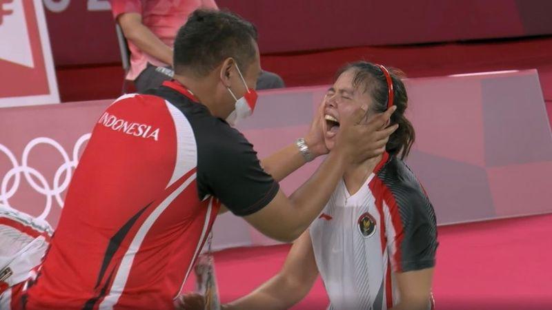 """""""Tränen der Erlösung"""": Badminton-Duo komplett von Gefühlen übermannt"""