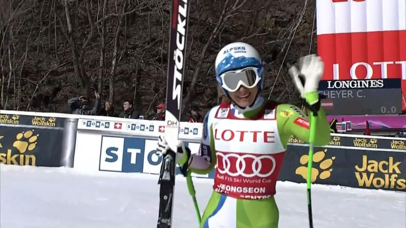 Goggia wins in Jeongseon, Vonn comes second