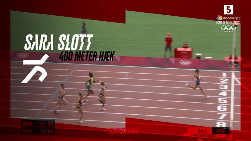 Sara Slott kæmper sig videre til semifinalen