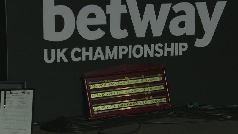 Kuriosum beim Snooker: Uraltes Scoreboard kommt zum Einsatz
