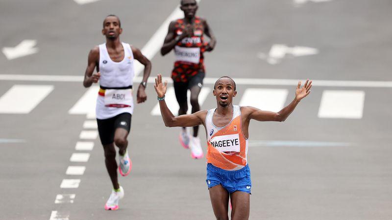 Sensatie op de marathon