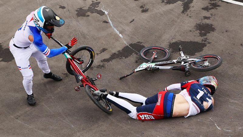BMX - A címvédő Fields szörnyű bukása
