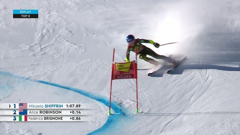 Sölden: Prima manșă la slalom uriaș - Top 3