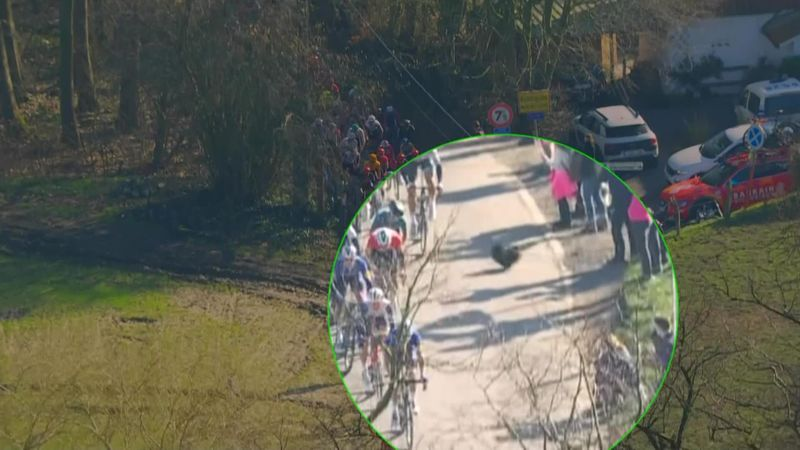 'What are you playing at?' - Dog almost causes carnage at Kuurne-Brussels-Kuurne