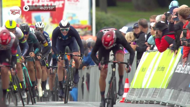 Kristoff sprints to victory in stage two of the Tour of Germany