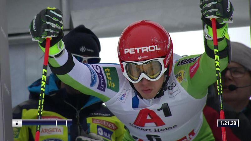Alpineskiën | Kranjec wint verrassend reuzenslalom Saalbach-Hinterglemm