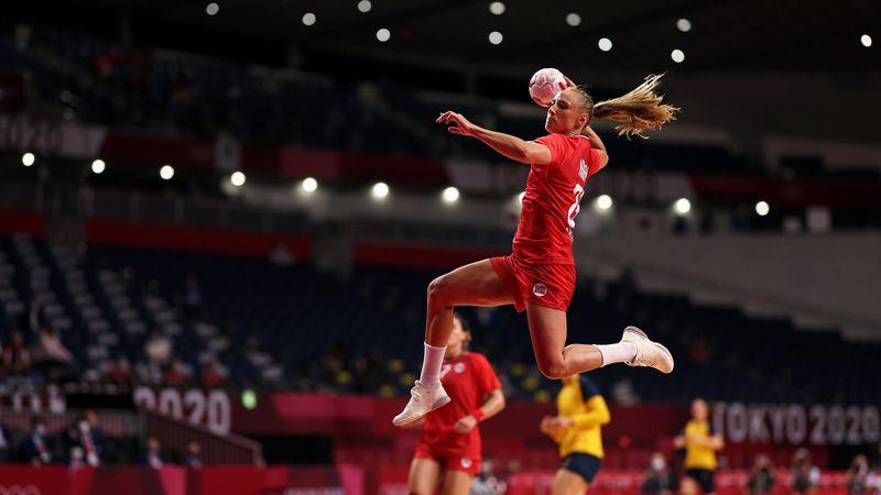 Se høydepunktene fra bronsefinalen: Norge - Sverige