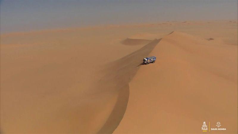 Sotnikov et Kamaz règnent pour l'instant sur le Dakar Camions