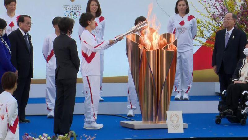 """""""Kleine Flamme als große Hoffnung"""": Olympia-Fackellauf beginnt"""