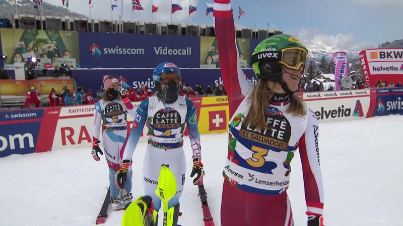 'What a way to close out the season!' – Liensberger seals slalom World Cup