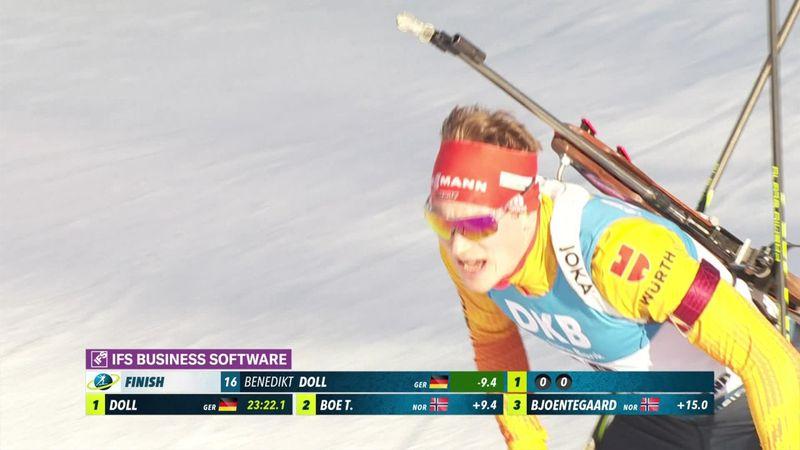 Biatlon| Doll verrast met eerste plaats op 10km