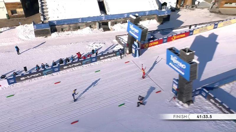 Remontada espectacular de Bolshunov en los últimos metros de Val di Fiemme