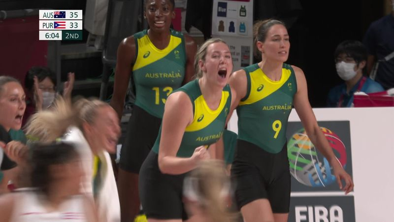 Tokyo 2020 - Australia  vs. Puerto Rico - Basketball – Olympia Highlights